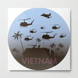 Vietnam War Metal Print