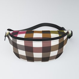 Colorful Checker 02 Fanny Pack