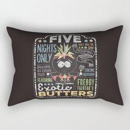 Exotic Butters Rectangular Pillow
