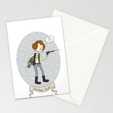 Star Wars fan-girl Stationery Cards