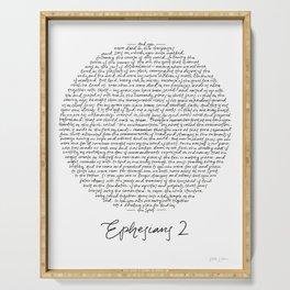 Ephesians 2 Serving Tray
