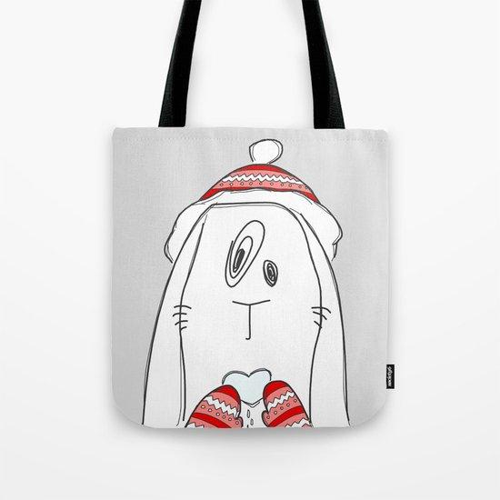 Winter Love Tote Bag