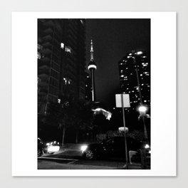 The Toronto City  Canvas Print