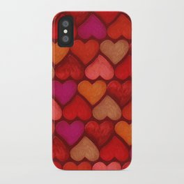 Love Pattern iPhone Case