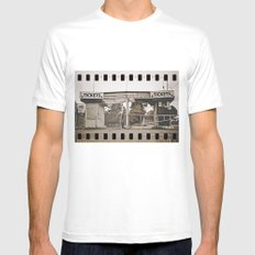 Tickets to the past Mens Fitted Tee White MEDIUM
