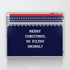 Home Alone – Merry Christmas, Ya Filthy Animal! Laptop & iPad Skin
