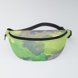 Abstract painting X 0.4 Fanny Pack