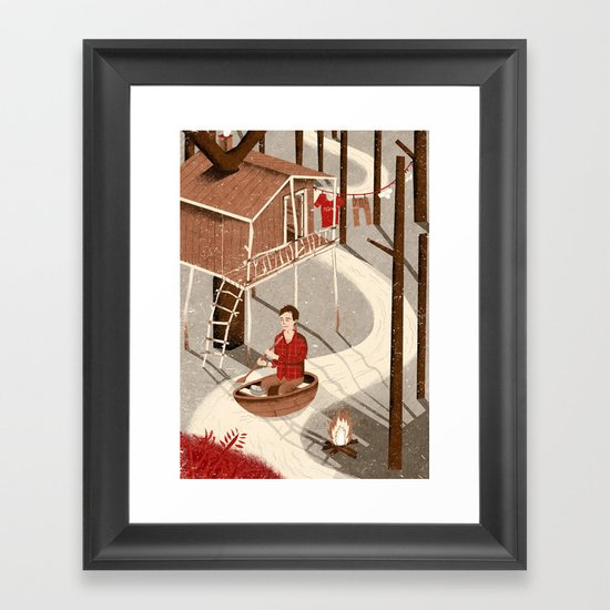 Forest Dweller Framed Art Print