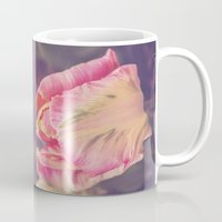 blush Mugs featuring Blush by Strange Charm