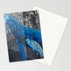 Whale Art Stationery Cards