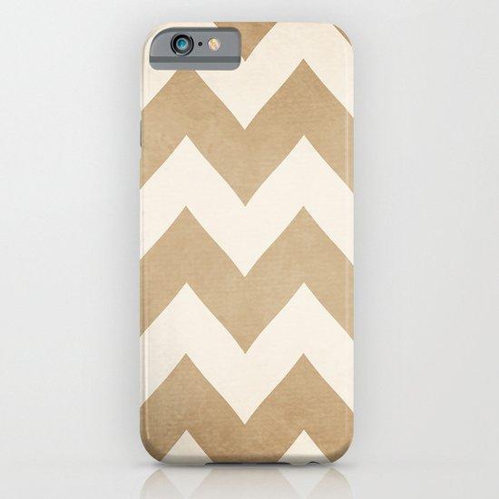 Biscotti & Vanilla - Beige Chevron iPhone & iPod Case