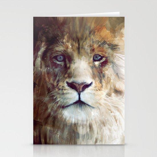 Lion // Majesty Stationery Cards