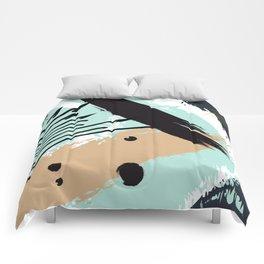 Marine splash Comforters