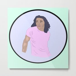 Anthony Ramos Metal Print