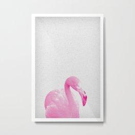 Flamingo 03 Metal Print