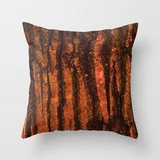 Textures - Wood Throw Pillow