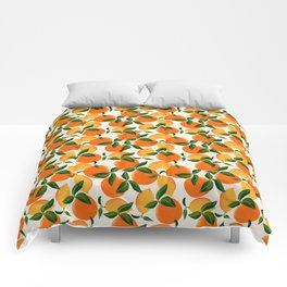 Oranges and Lemons Comforters