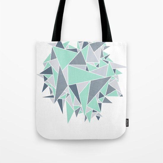 EXPLOSION-TRIANGLE Tote Bag