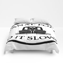 Canal folk do it slowly bywhacky Comforters