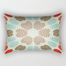 Retro Paper Rectangular Pillow