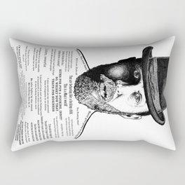 Alfie Solomons Ink'd Series Rectangular Pillow