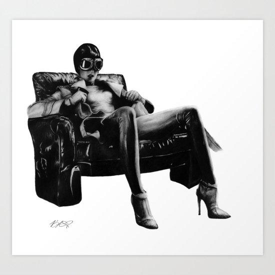 Hot Leather. Art Print