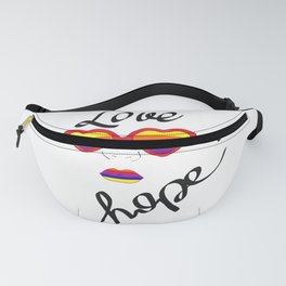 Love is hope Fanny Pack