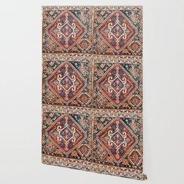 Qashqai Khorjin  Antique Fars Persian Bag Face Wallpaper