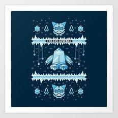 Such an Ice Sweater: Ho-Ho-Hoenn Art Print