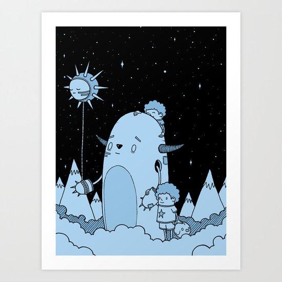 Quest Art Print
