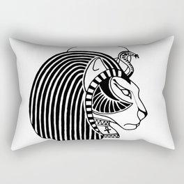 Tefnut Egyptian Goddess Rectangular Pillow