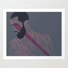 Pose Babe Art Print