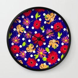 floral kingdom Wall Clock