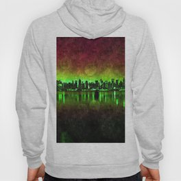 NYC Surreal Green Hoody