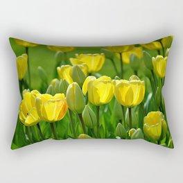 Gelbe Tulpen Rectangular Pillow