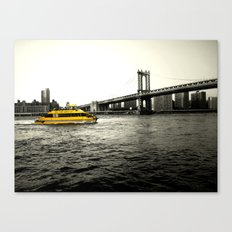Water Taxi Canvas Print
