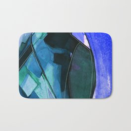 Abstraction 317I by Kathy Morton Stanion Bath Mat