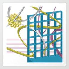 Complex Life Art Print