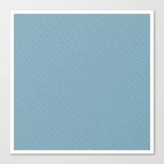 U13: blue droplet Canvas Print
