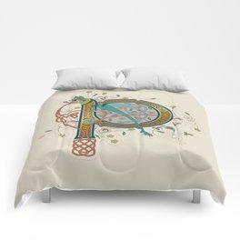 Celtic Initial P Comforters
