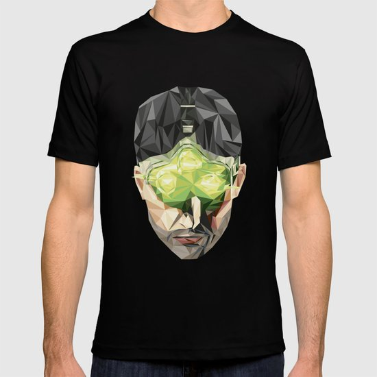 Triangles Video Games Heroes - Sam Fisher T-shirt