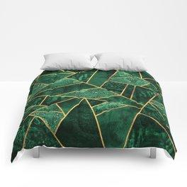 Deep Emerald Comforters