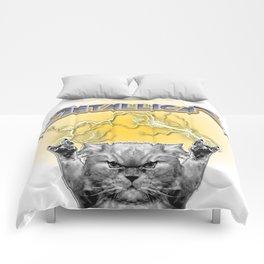 Metal Cat Comforters