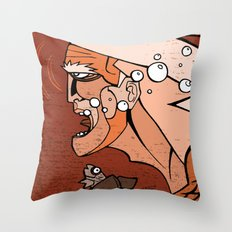 Aguaman Throw Pillow