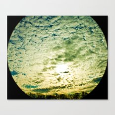 Space Telescope  Canvas Print