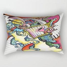 Spirit of the Muse Rectangular Pillow
