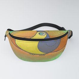 Baby Bird Smiles in the Rain! Fanny Pack