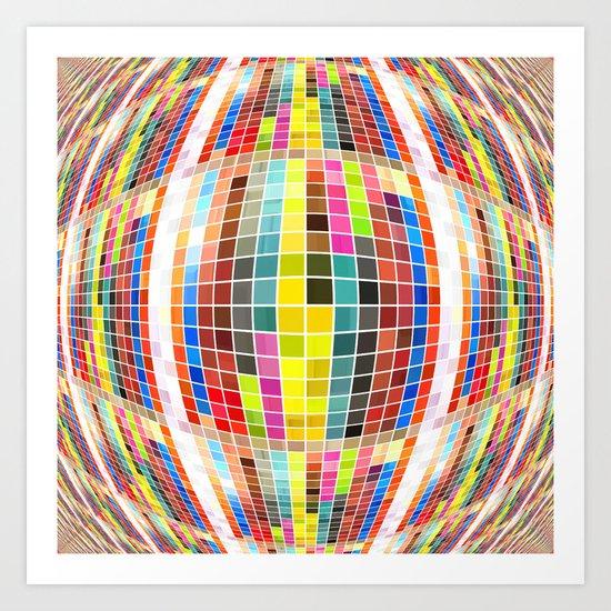 All The Pretty Squares Art Print