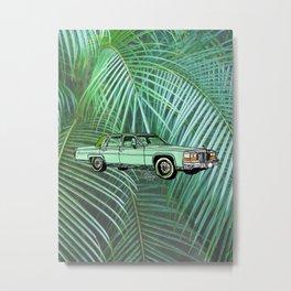 Caddy Metal Print