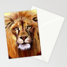 Lion of Africa Stationery Cards